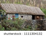 dwelling in the paul valley.... | Shutterstock . vector #1111304132