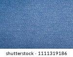 denim texture for background  | Shutterstock . vector #1111319186