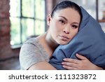 without sleep. tired chivied... | Shutterstock . vector #1111323872