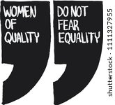 equality conceptual... | Shutterstock .eps vector #1111327955