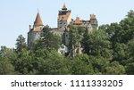 bran castle in bran  romania | Shutterstock . vector #1111333205