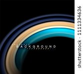 fluid mixing colors vector wave ... | Shutterstock .eps vector #1111334636