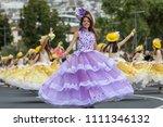 funchal  madeira  portugal  ... | Shutterstock . vector #1111346132