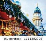 Night Christmas Market In...