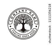 tree of life logo design... | Shutterstock .eps vector #1111356218