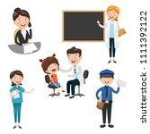 vector illustration of... | Shutterstock .eps vector #1111392122