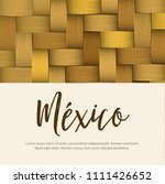 traditional colorful mexican... | Shutterstock .eps vector #1111426652