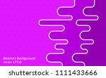 purple and violet abstract... | Shutterstock .eps vector #1111433666