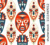 vector illustration. tribal... | Shutterstock .eps vector #1111469012