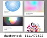 the minimalistic abstract... | Shutterstock .eps vector #1111471622