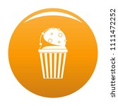 popcorn icon. simple... | Shutterstock .eps vector #1111472252
