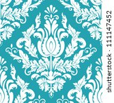 vector damask seamless pattern... | Shutterstock .eps vector #111147452