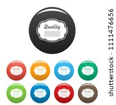 grade label icon. simple... | Shutterstock .eps vector #1111476656