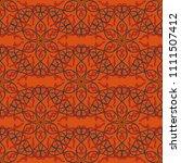 seamless geometrical pattern... | Shutterstock .eps vector #1111507412