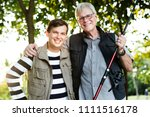 family on a fishing trip | Shutterstock . vector #1111516178