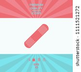 medical  plaster  adhesive... | Shutterstock .eps vector #1111521272