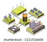 alternative energy concept...   Shutterstock .eps vector #1111526606