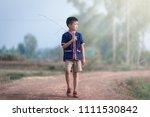 the boy thai children thai  | Shutterstock . vector #1111530842