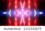 abstract red creative lights... | Shutterstock . vector #1111532675