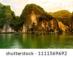 the world heritage seascape of... | Shutterstock . vector #1111569692