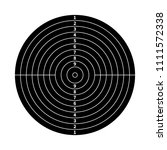 black score target for shooting ... | Shutterstock .eps vector #1111572338