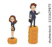 social inequalities at work ... | Shutterstock .eps vector #1111629875