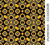 digital art abstract seamless... | Shutterstock .eps vector #1111632638