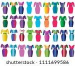 woman dress beautiful | Shutterstock .eps vector #1111699586