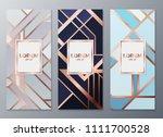 design templates for flyers ... | Shutterstock .eps vector #1111700528