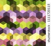 hexagon grid seamless vector...