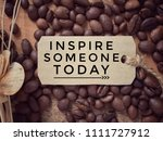 motivational and inspirational... | Shutterstock . vector #1111727912