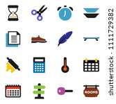 solid vector icon set   rolling ...