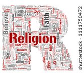 vector conceptual religion  god ...   Shutterstock .eps vector #1111750472
