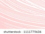 grunge texture. distress pink... | Shutterstock .eps vector #1111775636