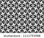 flower geometric pattern.... | Shutterstock . vector #1111792988