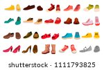 Footwear Set Vector....