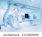 cath lab is an examination room ... | Shutterstock . vector #1111805405