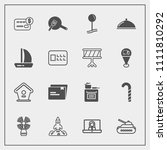 modern  simple vector icon set... | Shutterstock .eps vector #1111810292