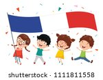vector illustration of kid... | Shutterstock .eps vector #1111811558