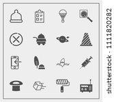 modern  simple vector icon set... | Shutterstock .eps vector #1111820282