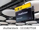 london   may 27  2018 ... | Shutterstock . vector #1111827518