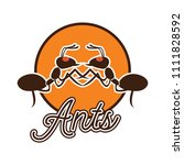 ants logo  vector illustration | Shutterstock .eps vector #1111828592