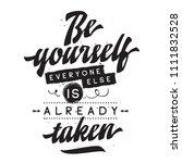 inspirational quote  motivation.... | Shutterstock .eps vector #1111832528