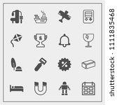 modern  simple vector icon set... | Shutterstock .eps vector #1111835468