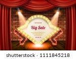grand opening flyer  marketing... | Shutterstock .eps vector #1111845218