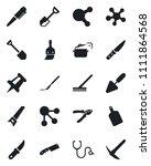 set of vector isolated black... | Shutterstock .eps vector #1111864568