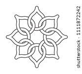 vector motif drawing   Shutterstock .eps vector #1111872242