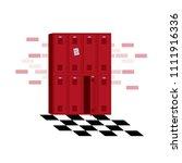 middle school high school... | Shutterstock .eps vector #1111916336