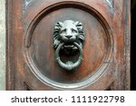 Old Metal Door Handle In The...