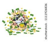 vector isolated emoji character ... | Shutterstock .eps vector #1111926836
